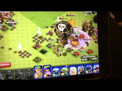 Clash Of Clans Thanksgiving  Glitch