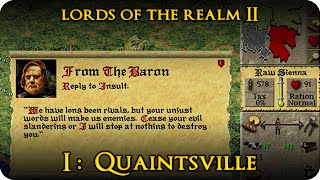 Lords of the Realm II, #1 - Quaintsville