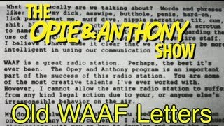 Opie & Anthony: Old WAAF Letters (02/23/09)