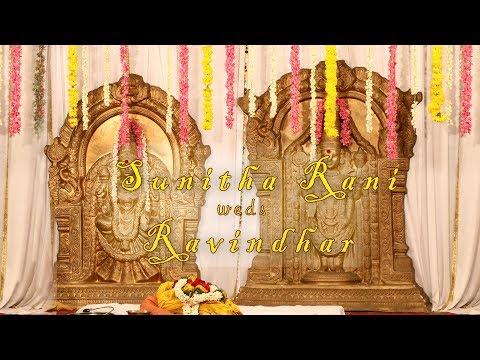 Sunitha Rani weds Ravindhar - Wedding Highlights 1
