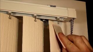How Remove And Replace Vertical Blind Vanes