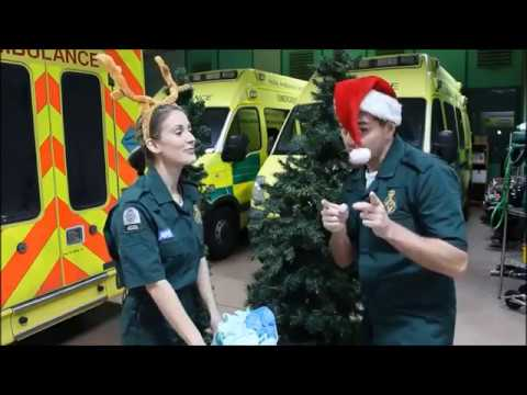 Casualty Christmas Challenge Charlotte Salt and Michael Stevenson