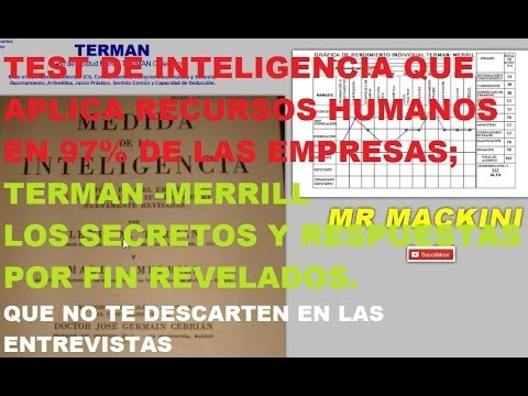 test de inteligencia terman