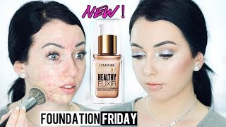 Full Coverage?! COVERGIRL VITALIST HEALTHY ELIXIR FOUNDATION! Acne/Oily Skin {First Impression}