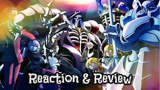 Overlord (オーバーロード Ōbārōdo) Episodes 3 & 4 Reaction & Review