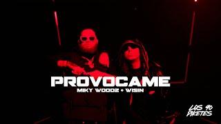 Смотреть клип Miky Woodz & Wisin - Provocame