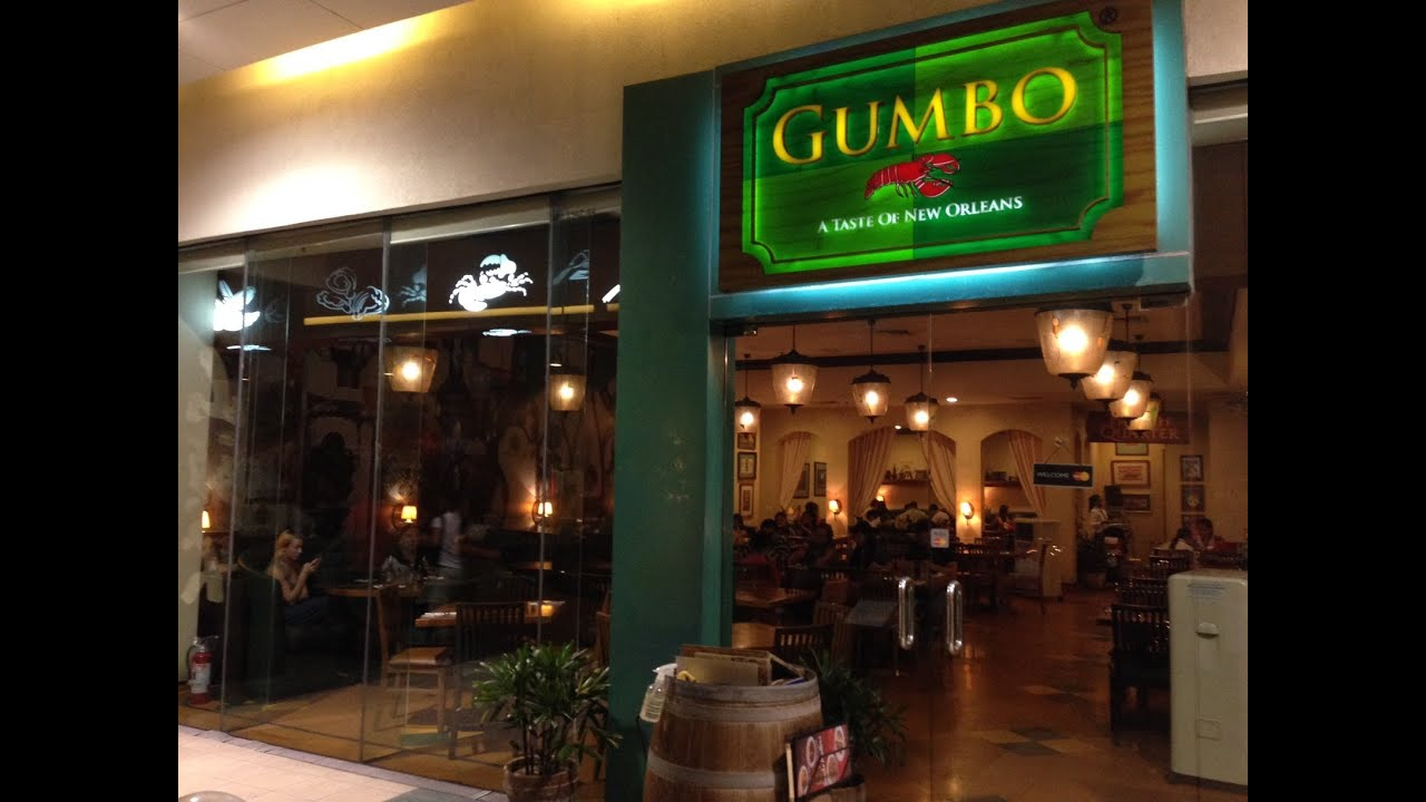 Gumbo A Taste Of New Orleans Restaurant Sm Mall Asia Pasay City By Hourphilippines