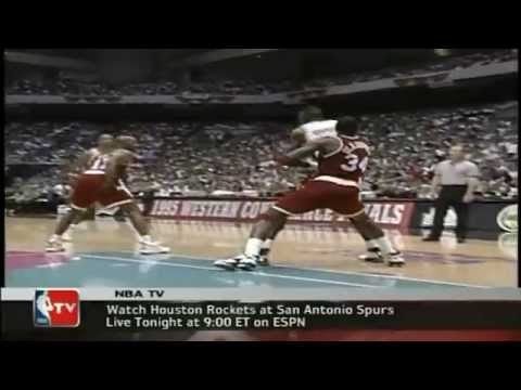 1995 WCF Gm. 2 Rockets vs. Spurs