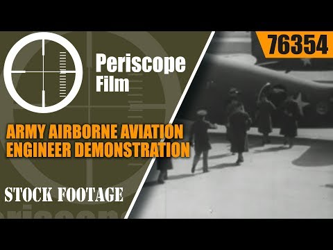 ARMY AIRBORNE AVIATION ENGINEER DEMONSTRATION WESTOVER MASSACHUSETTS 76354