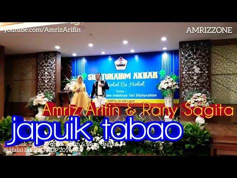 Japuik Tabao - Amriz Arifin & Rany Sagita - @ halal bihalal pkdp 2019