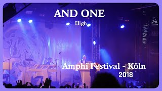 And One - High (Live@Amphi 2018)