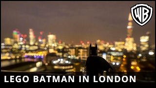 The LEGO® Batman™ Movie - LEGO Batman in London - Warner Bros. UK