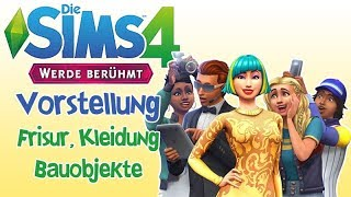 Shiva stellt vor - Die Sims 4 werde Berühmt - Frisuren, Kleider, Bauobjekte