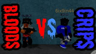 Roblox EastSide Chicago RP Blood VS Crip