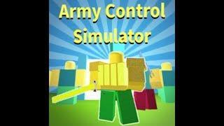 Roblox - Simulatore di Controllo dell'Esercito battendo Duriel (BOSS) con 40 martelli Mercuriel