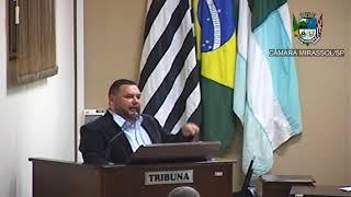 12ª Sessão Ordinária - Vereador Walmir Chaveiro