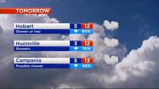 Southern Cross News Tasmania - Weather Update (14/6/2018)