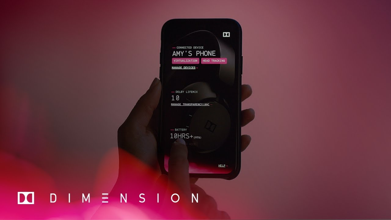 How To Use The Dimension App - Dolby Dimension   Dolby