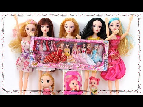 준의 여자친구가 되고싶어! 마론인형세트 소개영상 아기인형과 유모차까지?이게 한세트라고??새로운 장난감과 공주놀이 미미인형드라마 만화 barbie인형의 인형극 어린이채널♡모모TV