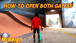 Tony Hawk Pro Skater 1 & 2 - Skatestreet - How To Open All Gates - Both Secret Areas Opened