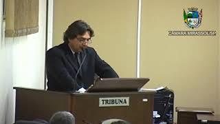 3ª Sessão Ordinária - Vereador Beto Feres
