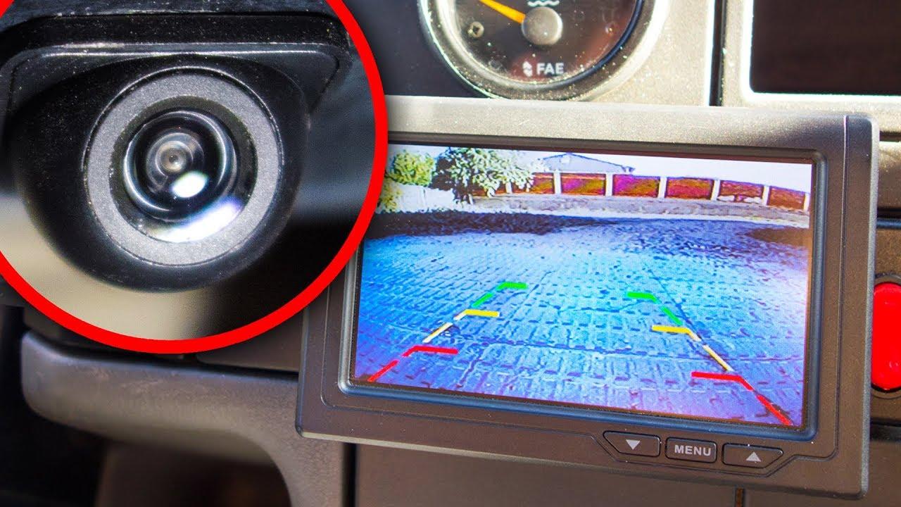 como montar una camara de vision trasera en el coche p On camara vision trasera