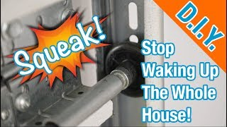 How To Lubricate Your Noisy Garage Door (Goodbye, SQUEAKS!)
