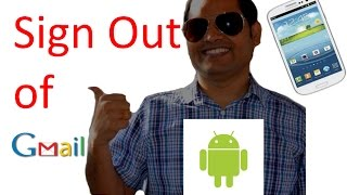 How Sign Out Gmail Android Phone