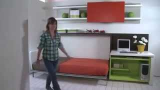 Poppi Sd | Resource Furniture | Wall Bed System