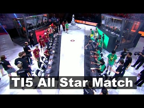 TI5 All Star Match Team BigDaddyN0tail vs Team Chuan Dota 2