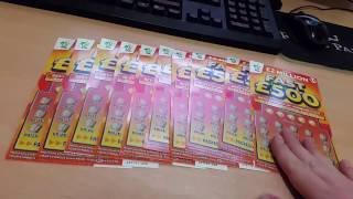 10th December £50 Vs Fast £500 Scratchcards