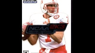 NCAA College Football 2K3 - PS2 2002 (Opening)