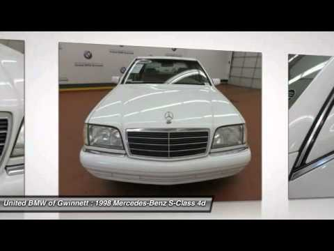 1998 mercedes benz s class duluth ga 13640a youtube for Mercedes benz of duluth