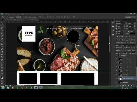 Tutorial Design Web Sederhana Menggunkan Adobe Photoshop CS6