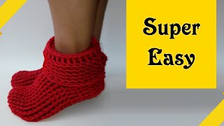🔴Crochet slipper boots for women & men