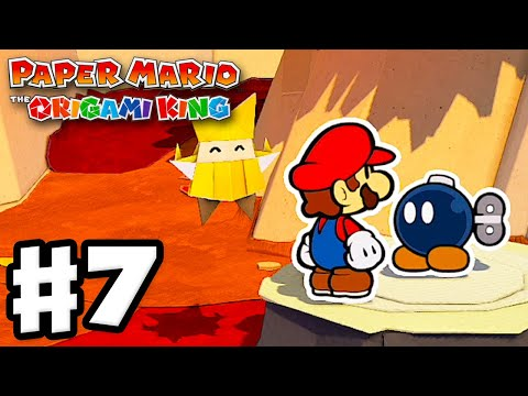 Chestnut Valley! - Paper Mario: The Origami King - Gameplay Walkthrough Part 7