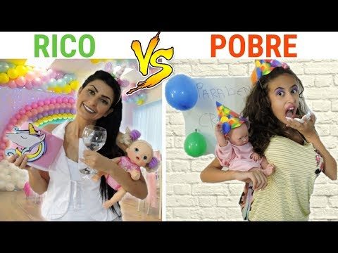 RICO VS POBRE FESTA DE ANIVERSÁRIO