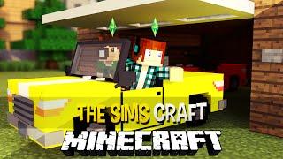 The Sims Craft Ep.29 - Colecionador de Carros !! - Minecraft