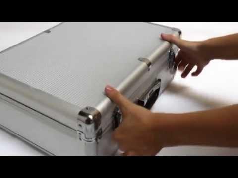 Maletin aluminio caja de herramientas aluminium case youtube - Maletin de aluminio para herramientas ...