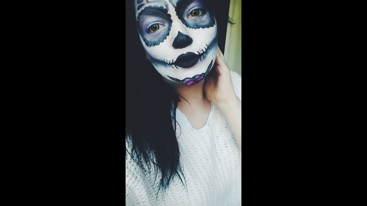 Ben noto ✿Trucco Teschio Messicano ! ✿ Halloween Skull Makeup - YouTube FS85