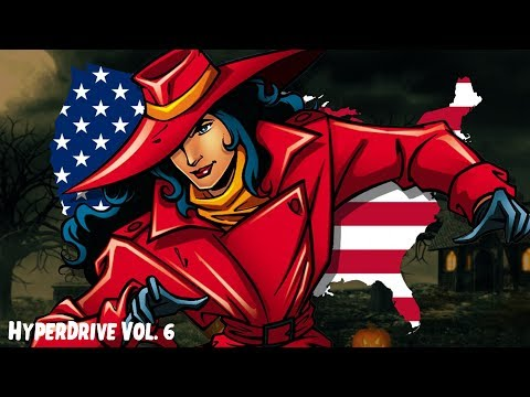 Where In The U.S.A. Is Carmen Sandiego? RPG - HyperDrive Vol. 6