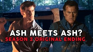 ASH VS EVIL DEAD Season 2 Original VS Aired Ending + Review