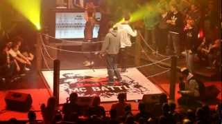 Grasshopper vs. Deda FINALE ( Official HD Video ) Red Bull MC Battle 2012