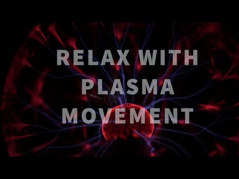 Plasma ball with relaxing, ambient music for sleep and meditation. 20 min of magic experience