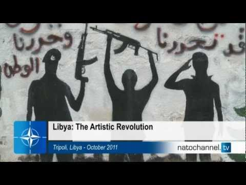 NATO and Libya - The artistic revolution