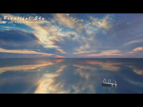 Calm Emotional Solo Piano Music 'Beautiful Sky' for Studying and Sleeping