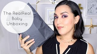The RealReal Baby Unboxing