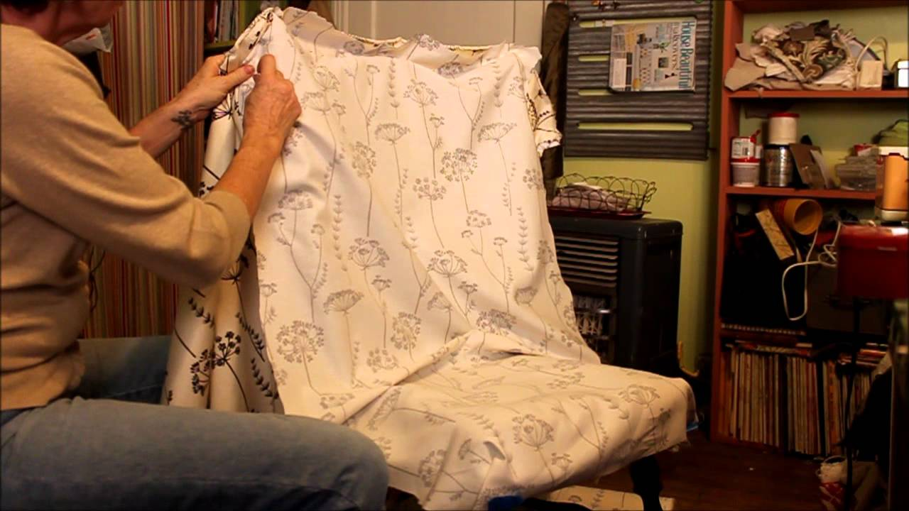 sewing slipcovers dining chair phase 1 youtube sewing slipcovers dining chair phase 1