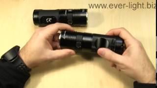 Распаковка и включение поискового фонаря EagleTac SX25L3
