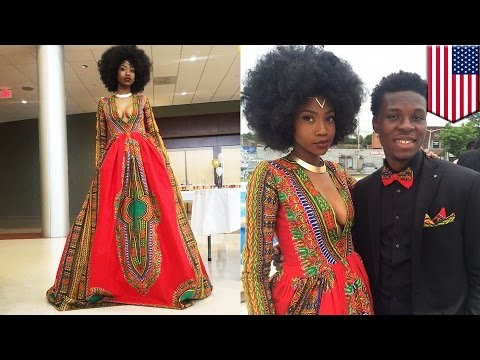 Bullied teen Kyemah McEntyre designs her own prom dress, becomes viral sensation
